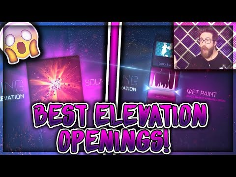 BEST ELEVATION CRATE OPENINGS ON ROCKET LEAGUE! thumbnail