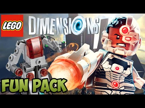 LEGO Dimensions: Cyborg (DC COMICS) - Fun Pack - Free Roam + Unboxing (71210)