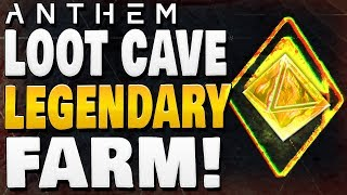 ANTHEM - LOOT CAVE ! | Legendary & Masterwork Best Farm !!