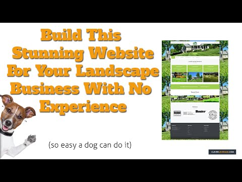 How To Make A Professional Website For Your Landscaping Busi