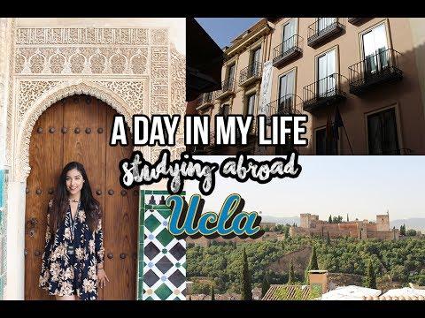 Follow me around: UCLA Student l EXPLORE GRANADA WITH ME