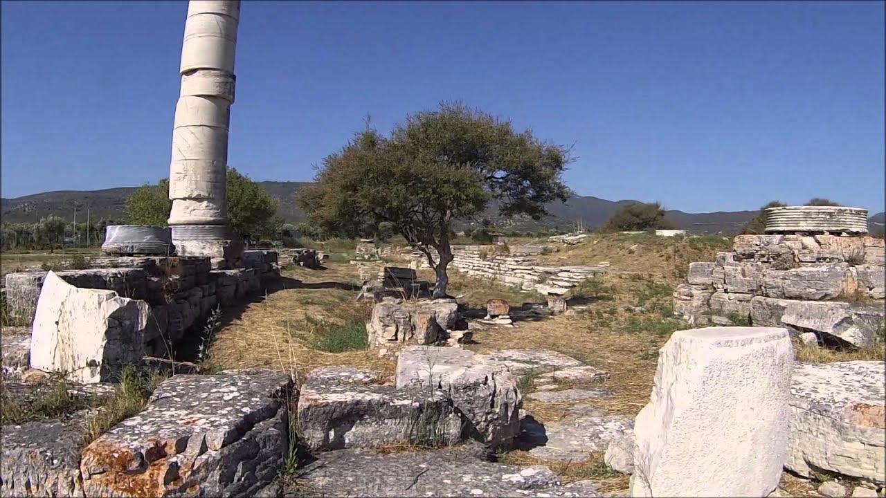 Temple Of Hera Samos Youtube
