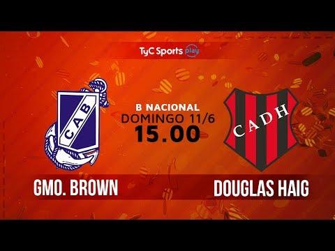Primera B Nacional: Brown de Maryn vs. Douglas Haig | #BNacionalenTyC