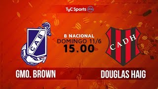 Guillermo Brown vs Douglas Haig full match