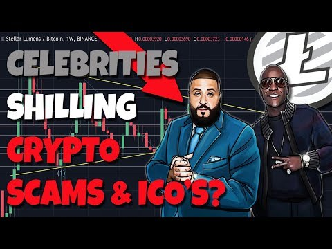 WATCH OUT: DJ Khaled & Floyd Mayweather SHILLING Crypto Scams And ICO's...