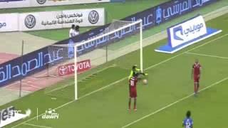 هدف الهلال الثاني  ضد الوحدة في الجولة 1 من دوري عبداللطيف جميل