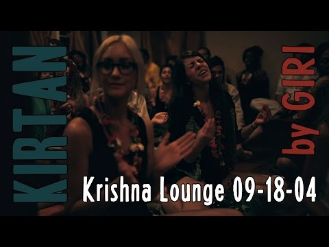 Krishna Lounge kirtan on Sep 18 2014 by GIRIRAJ GOPAL