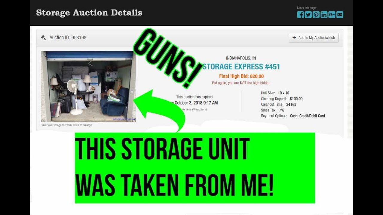 This Storage Unit Should Have Been Mine! Potential Huge Buy!