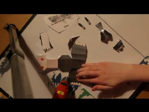 Papercraft Uta von tokyo ghoul #1 papercraft