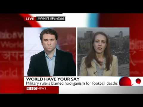 BBC World Have Your Say: Egypt Football Violence