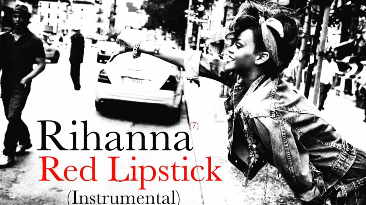 red lipstick rihanna скачать