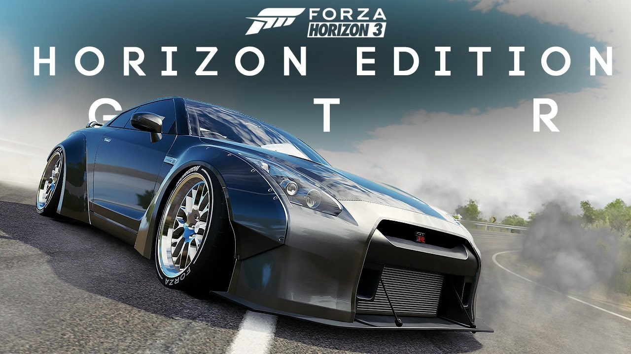 horizon edition r35 gtr build forza horizon 3 youtube. Black Bedroom Furniture Sets. Home Design Ideas