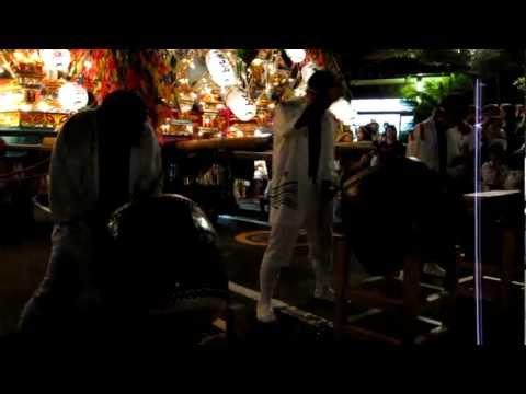 二島祇園山笠その2(平成24年7月15日)