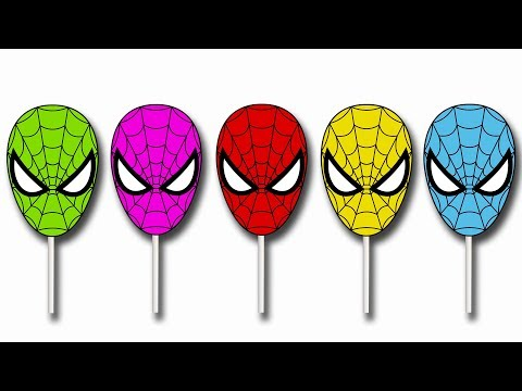 Thumbnail: Spiderman Cake Pop Finger Family Song | Finger Nursery Rhymes Collection For Kids