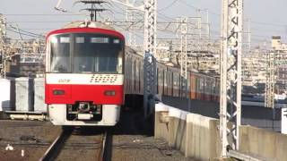 京急新1000形1016編成 青砥駅発車