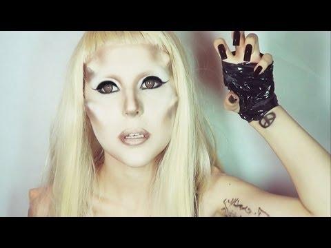 Lady Gaga make-up transformation by Anastasiya Shpagina