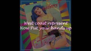 Katy Perry - California Gurls ft. Snoop (Lyric Video)  [HQ] + [DL Mp3]