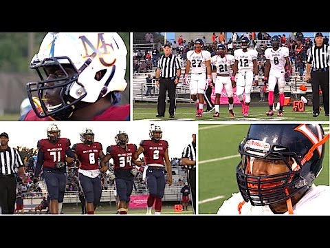 Vance vs Mallard Creek : HSFB North Carolina - UTR Highlight Mix 2016