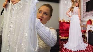 Свадебное платье с Aliexpress