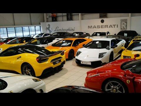 Incredible Supercar Dealerships