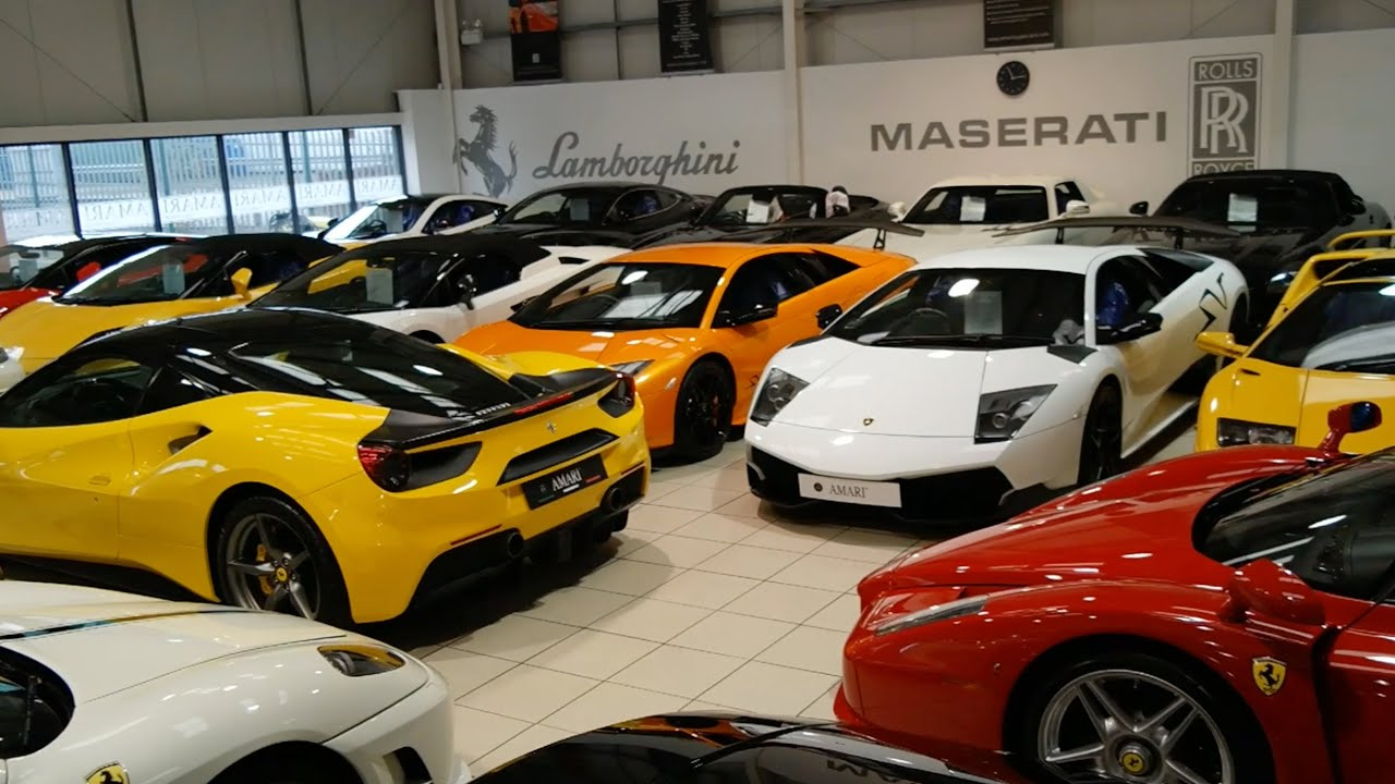 Used Sports Car Dealership