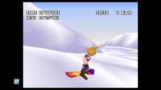 Final Fantasy VII Snowboarding X3 Speed