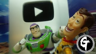 Toy Story-Woody VS Buzz lightyear & 100,000 Subscribers Special