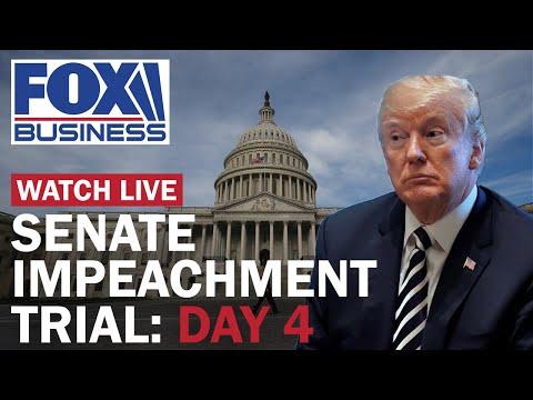Trump's defense team presents arguments   Day 4