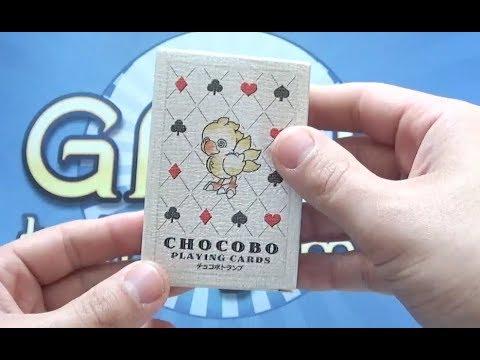 Final Fantasy Chocobo Karten für Poker, Mau-Mau usw.