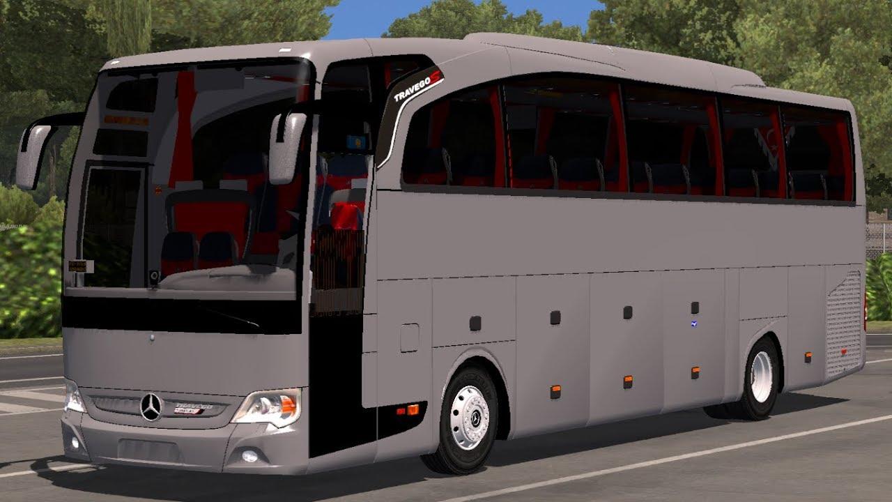 [1 31] Euro Truck Simulator 2 | Mercedes Benz Travego Special Edition V5 5  | Mods