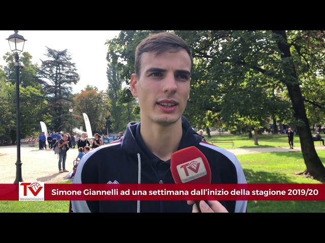 Giannelli ad una settimana dall'esordio in SuperLega Credem Banca 2019/20