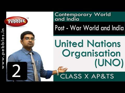 United Nations Organisation (UNO) | Post - War World and India | Social Science | Class 10