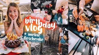 BIRTHDAY VLOG + meine Geschenke // JustSayEleanor (Erdbeeren pflücken, Summer Vibes)