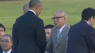 Obama Hugs Hiroshima Bomb Survivor