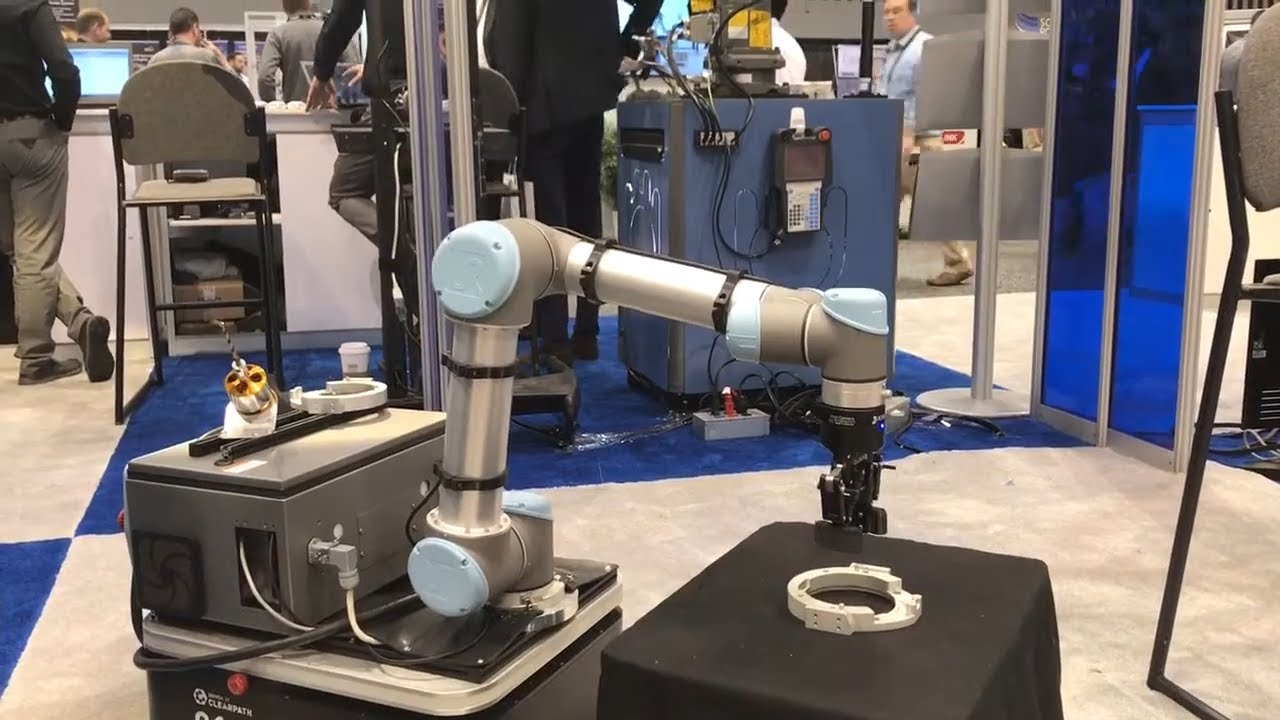 Clearpath Robotics Integration Demo @ Automate 2017