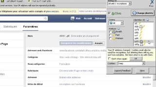 Comment changer le nom de la page facebook après 200 fans