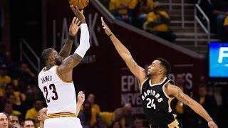 LeBron James and Kyrie Irving Lead Cavs to Game 2 Victory in Cleveland   May 3, 2017