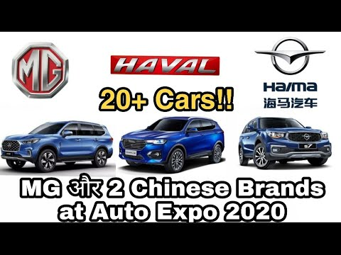 MG, Haval & Haima At Auto Expo 2020 Ep. 1 | Jeet Patel