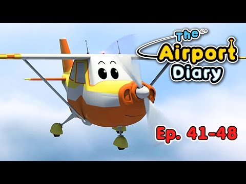 The Airport Diary - 41-48 - episodes - Cartoons about planes