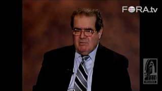Justice Antonin Scalia: The US Constitution is