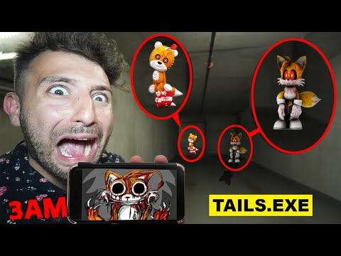 DONT WATCH SCARY TAILS.EXE VIDEOS AT 3AM OR CURSED TAILS DOLL WILL APPEAR! (TAILS.EXE IS HERE!)