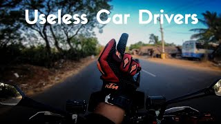 Useless Car Drivers - From Office To Home | Motovlog | Duke 250 | Go pro 7 Test Vlog|Enowaytion Plus