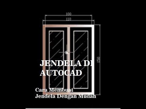 Video ini menjelaskan bagainama cara membuat sebuah pintu yang lebarnya dapat menyesuaikan secara ot.
