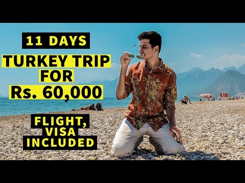 11 Days Turkey Trip in Rs. 60,000 | Flights, Visa, Airbnb, Food, Transport, Sightseeing & MORE 😍😃