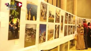 مصوري «غزة» يعرضون صورهم في «نحن نستحق الحياة»
