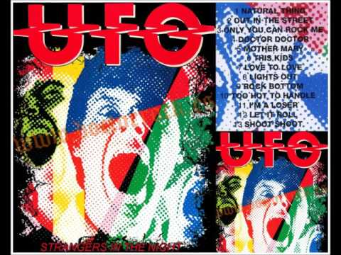 UFO...STRANGERS IN THE NIGHT.  [ THE ORIGINAL LIVE ALBUM ]