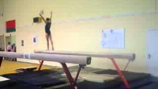 Спортивная гимнастика. Бревно.  2 разряд Albina Bris