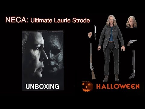 NECA Laurie Strode Unboxing