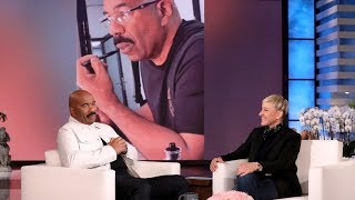 Download Steve Harvey's Son Exposed His Dad's Mustache Grooming Routine Mp3 and Videos
