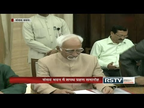 Oath taking ceremony of newly elected/re-elected Members of the Rajya Sabha